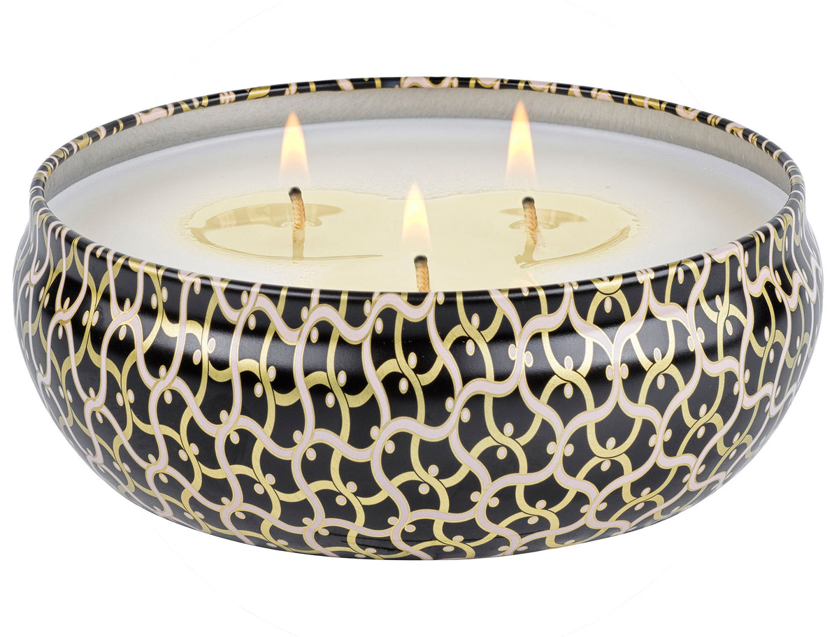 Ambre Lumiere - 3 Wick Tin Candle - 4
