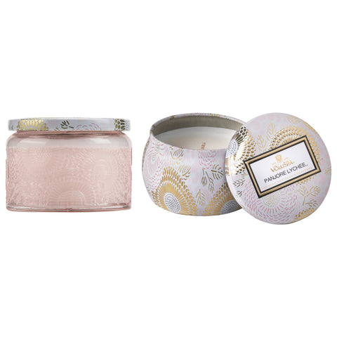 Candles For A Cure - Petite Jar + Mini Tin Candle Duo