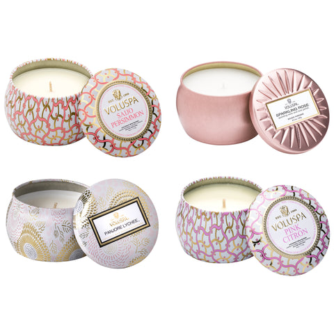 The Itty Bitty Committee - Petite Tin Candle Set