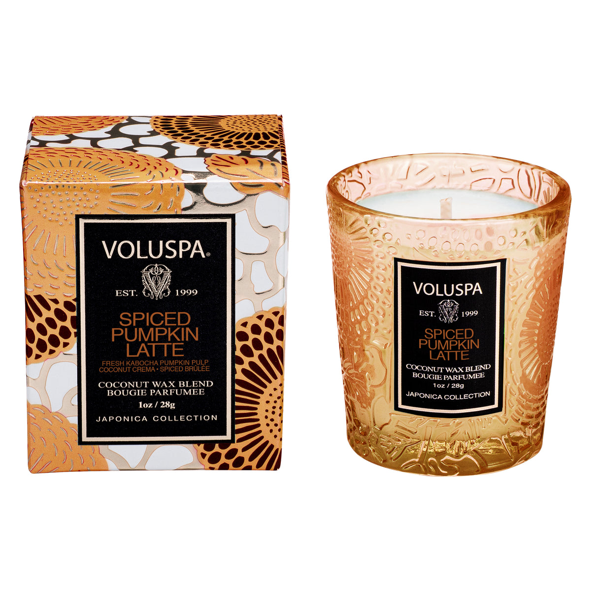 Spiced Pumpkin Latte - Mini-Votive - 1