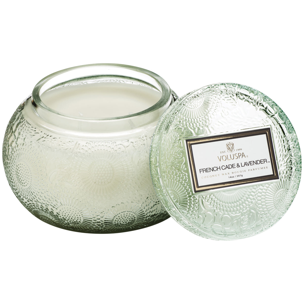 French Cade Lavender - Chawan Bowl Candle - 1