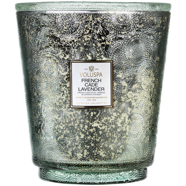 French Cade Lavender - 5 Wick Hearth Candle - 1