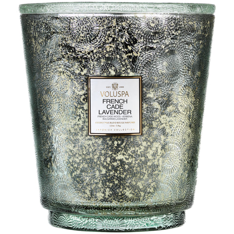 French Cade Lavender - 5 Wick Hearth Candle