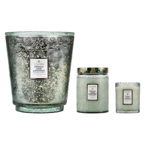French Cade Lavender - 5 Wick Hearth Candle - 2