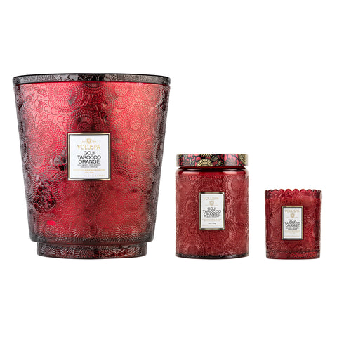 Goji Tarocco Orange - 5 Wick Hearth Candle