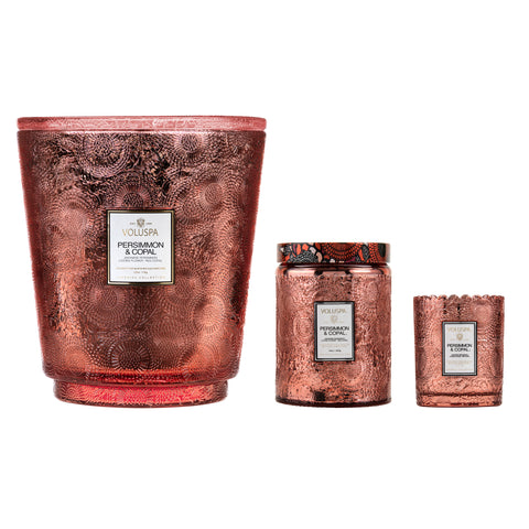 Persimmon & Copal - 5 Wick Hearth Candle