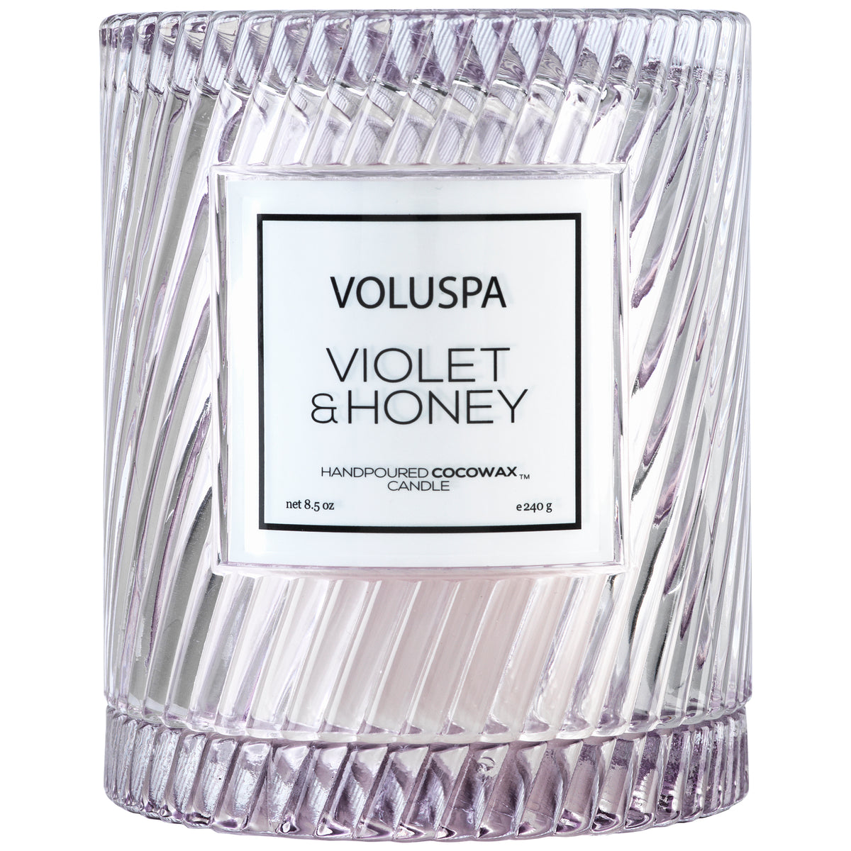 Violet & Honey - Cloche Candle - 1