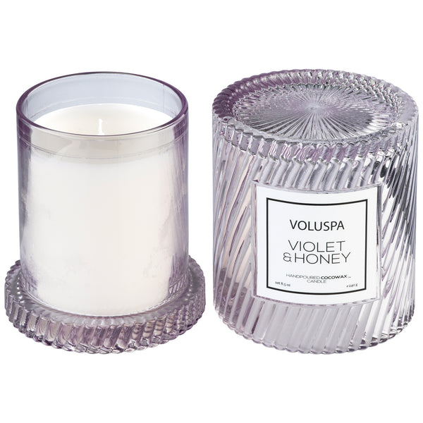 Violet & Honey - Cloche Candle - 3