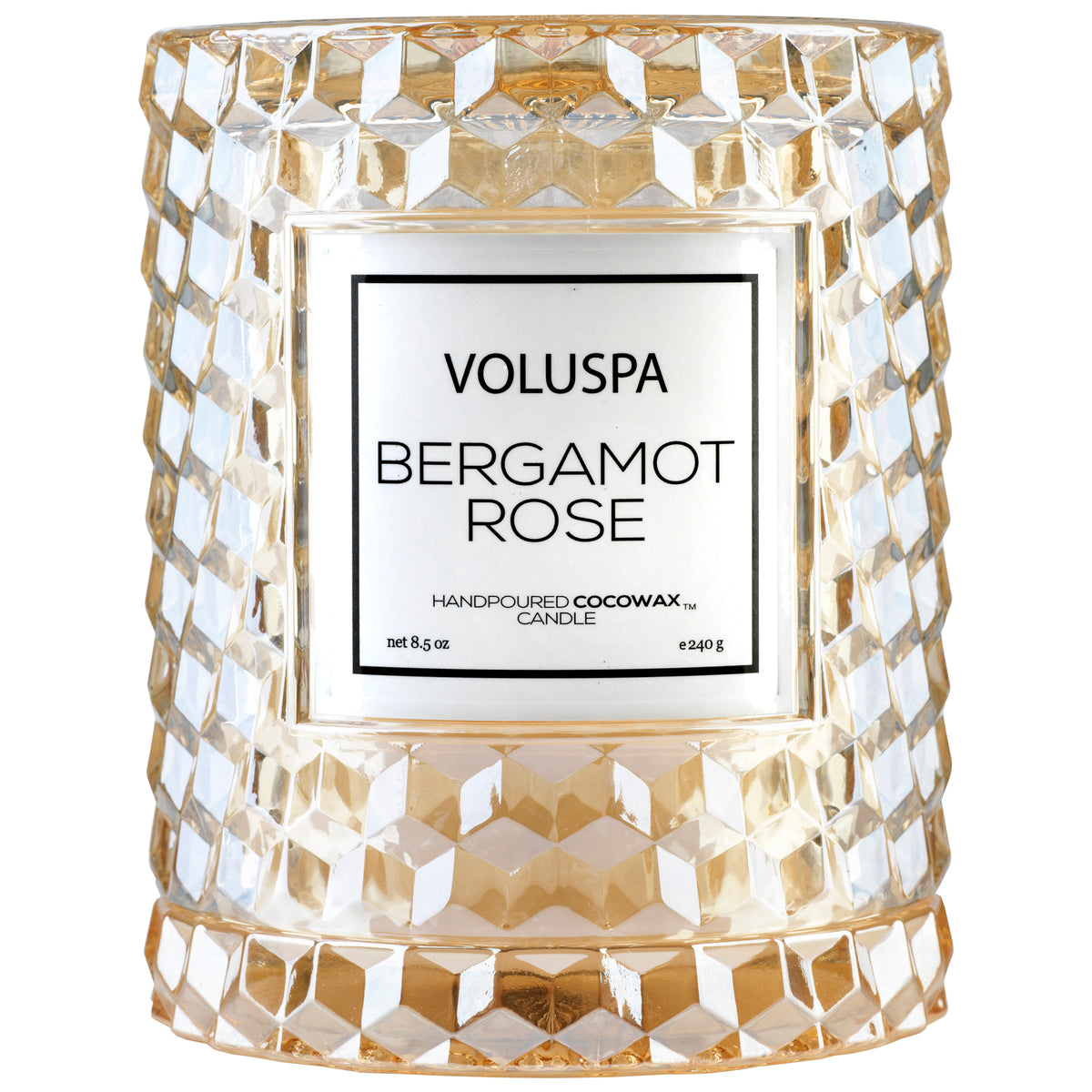 Bergamot Rose - Cloche Candle - 1