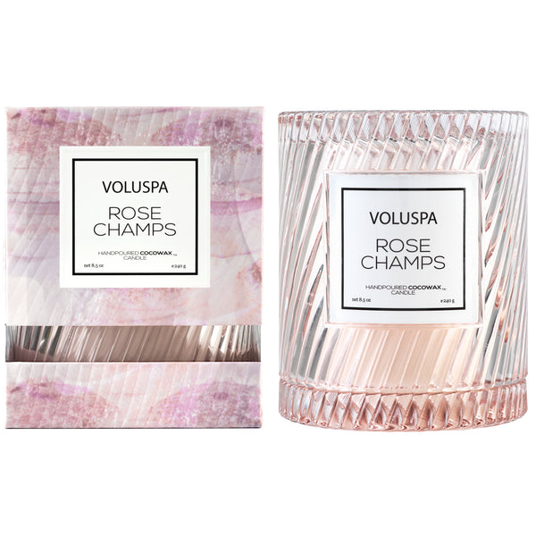 Rose Champs - Cloche Candle - 2