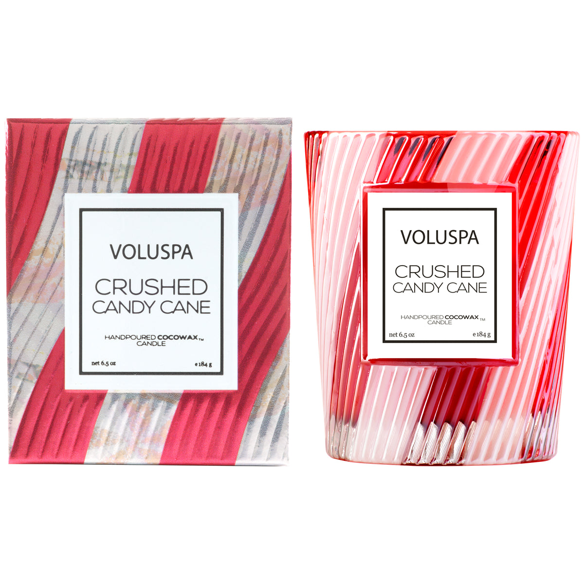 Crushed Candy Cane - Limited Edition Classic Candle - 2