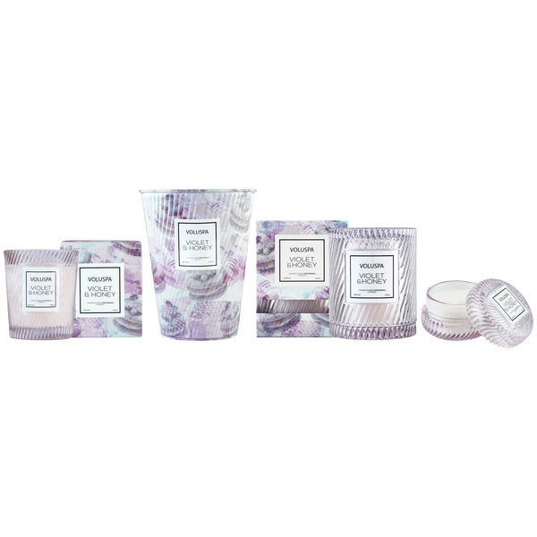 Violet & Honey - Cloche Candle - 4