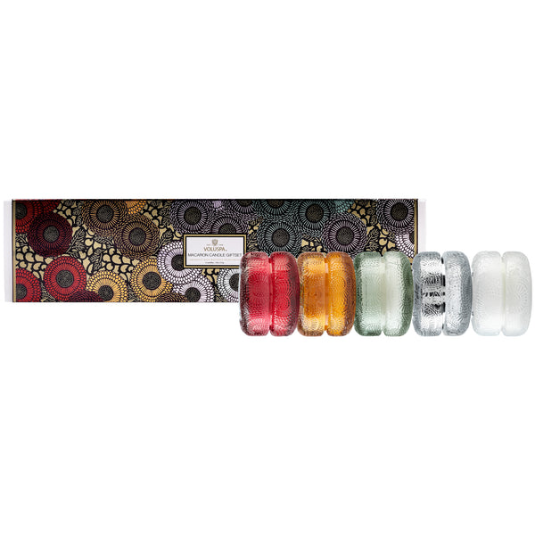 Assorted - Macaron 5 Candle Gift Set - Japonica - 1