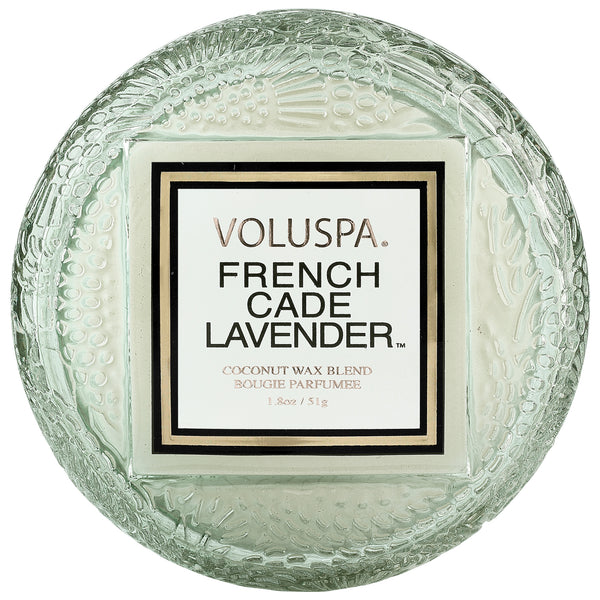 French Cade Lavender - Macaron Candle - 1