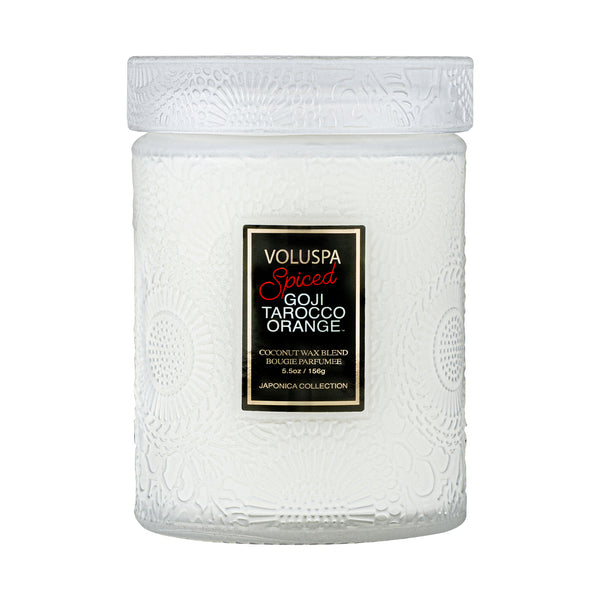 Spiced Goji Tarocco Orange - Small Jar Candle - 1