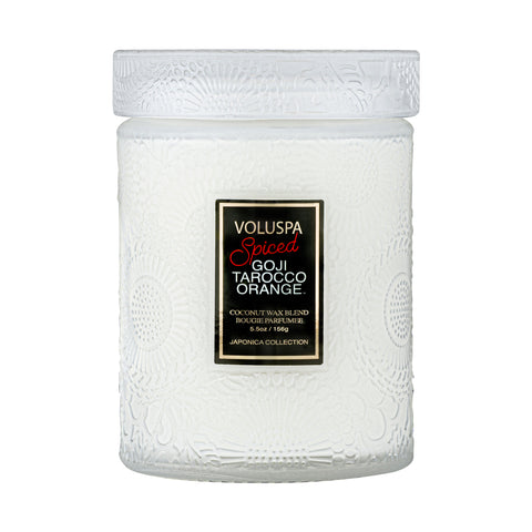 Spiced Goji Tarocco Orange - Small Jar Candle