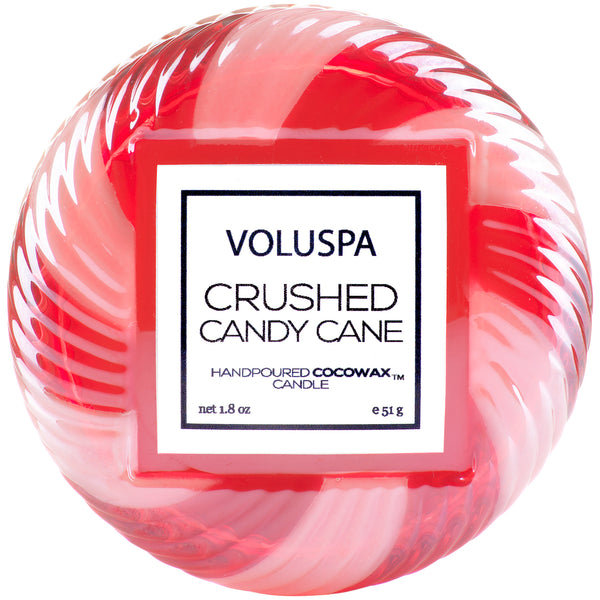 Crushed Candy Cane - Limited Edition Macaron Candle - 1