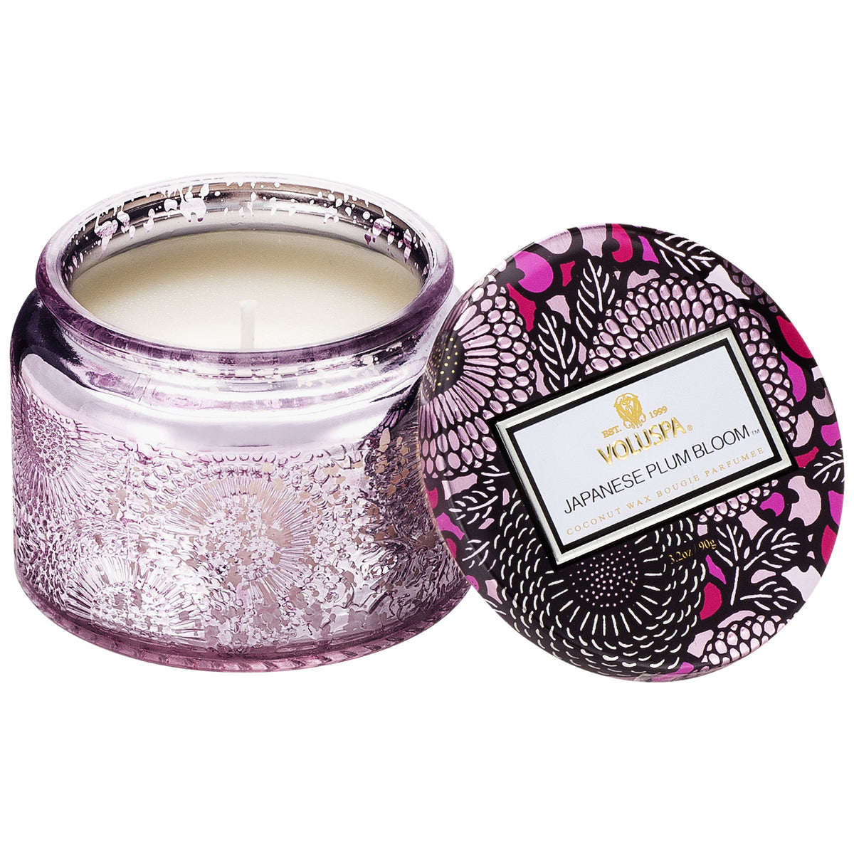 Japanese Plum Bloom - Petite Jar Candle - 2