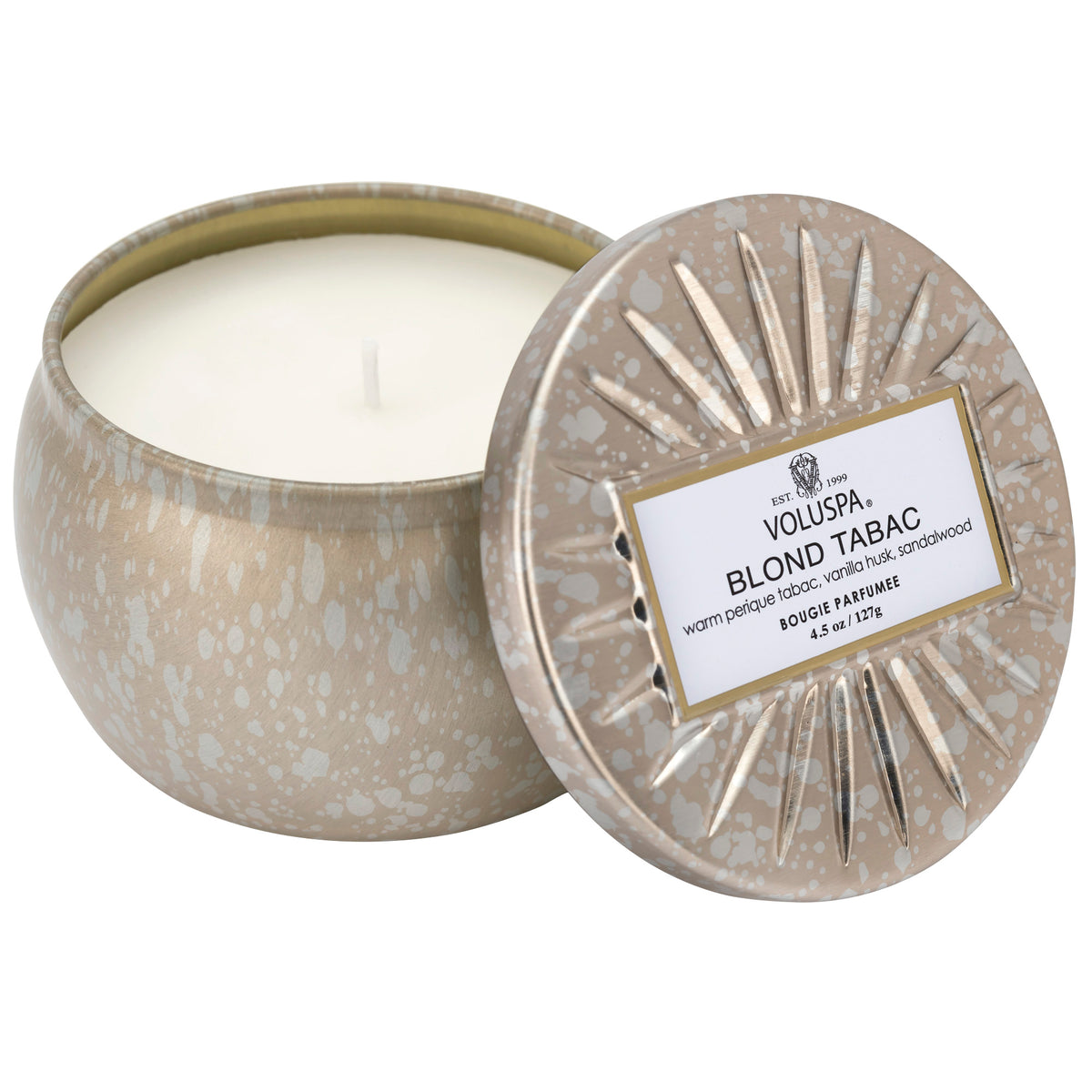 Blond Tabac - Mini Tin Candle - 1