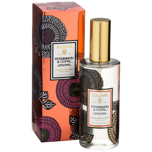 Persimmon & Copal - Room & Body Spray - 2
