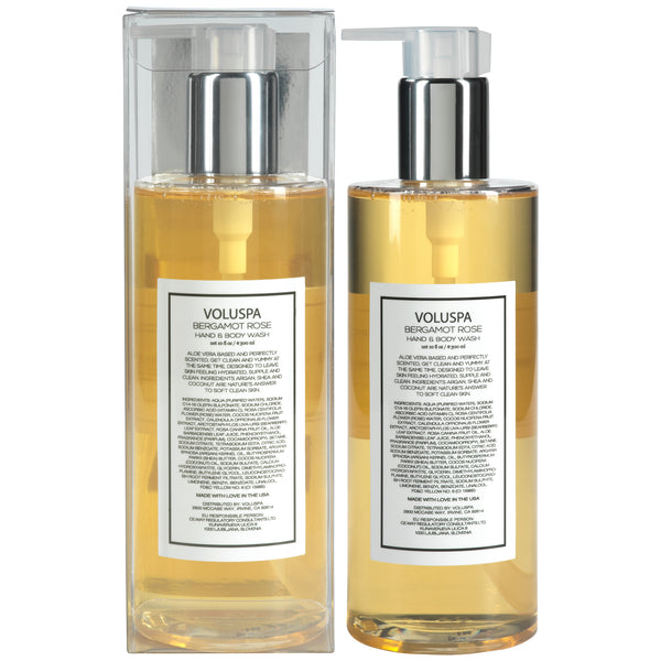 Bergamot Rose - Roses Collection Hand & Body Wash - 3