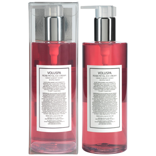Rose Petal Ice Cream - Roses Collection Hand & Body Wash - 3
