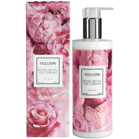 Rose Petal Ice Cream - Hand & Body Lotion