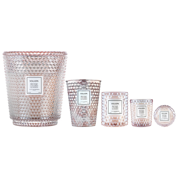 Rose Colored Glasses - 5 Wick Hearth Candle - 3