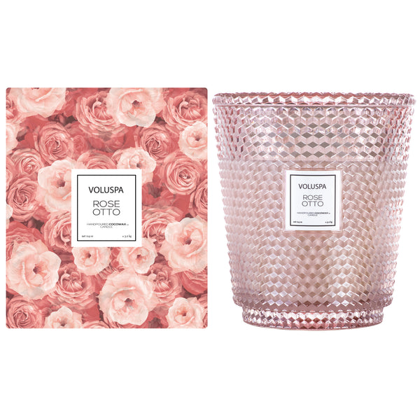 Rose Otto - 5 Wick Hearth Candle - 2