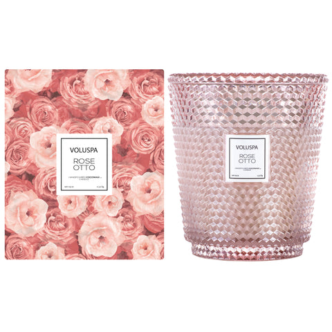 Rose Otto - 5 Wick Hearth Candle