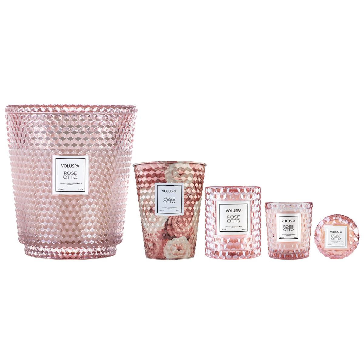 Rose Otto - 5 Wick Hearth Candle - 4