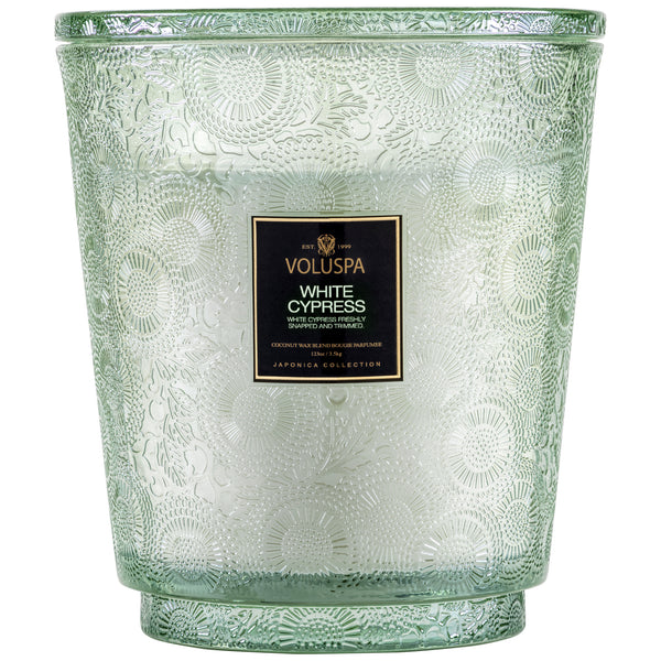 White Cypress - 5 Wick Hearth Candle - 1