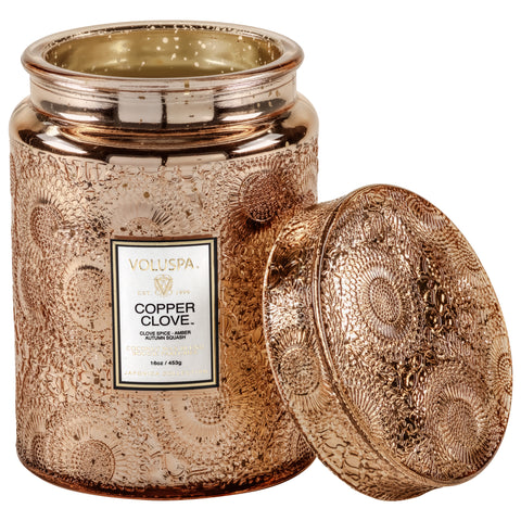 Copper Clove - Large Jar Candle