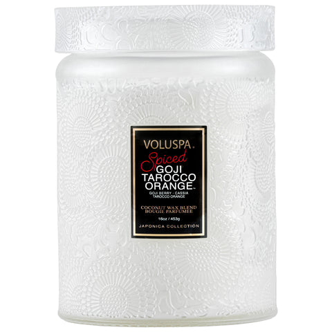 Spiced Goji Tarocco Orange - Large Jar Candle