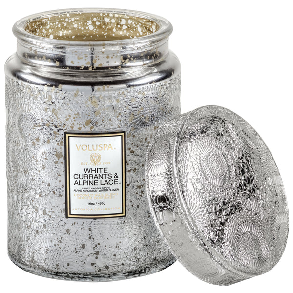 White Currants & Alpine Lace - Large Jar Candle - 2
