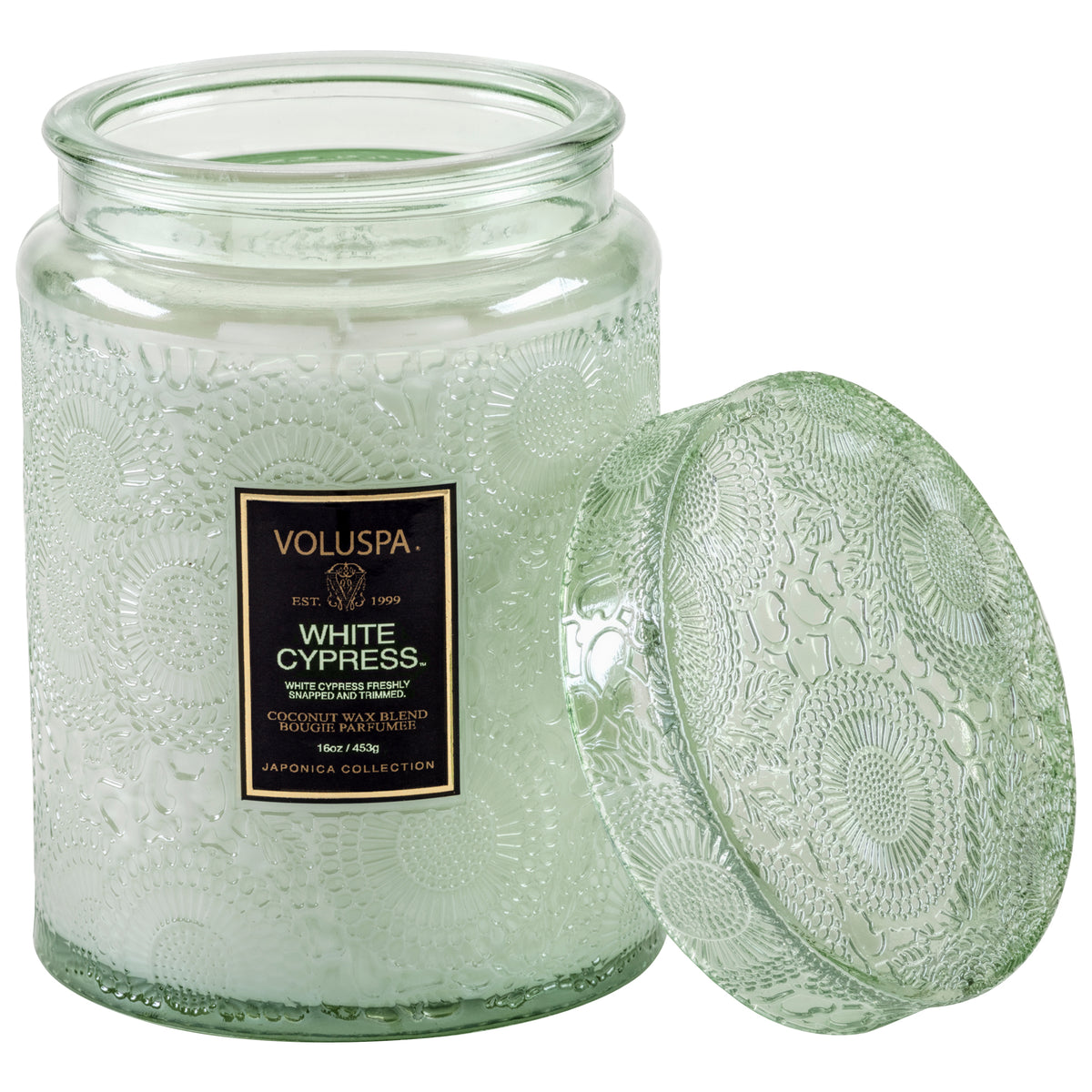 White Cypress - Large Jar Candle - 2