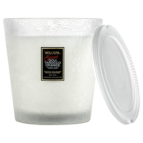 Spiced Goji Tarocco Orange - 3 Wick Hearth Candle