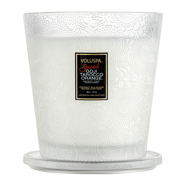 Spiced Goji Tarocco Orange - 3 Wick Hearth Candle - 3