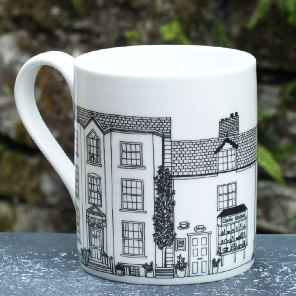 Castle Kitchen street scene Mug