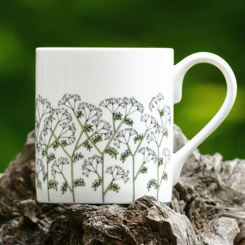 Cow Parsley Mug