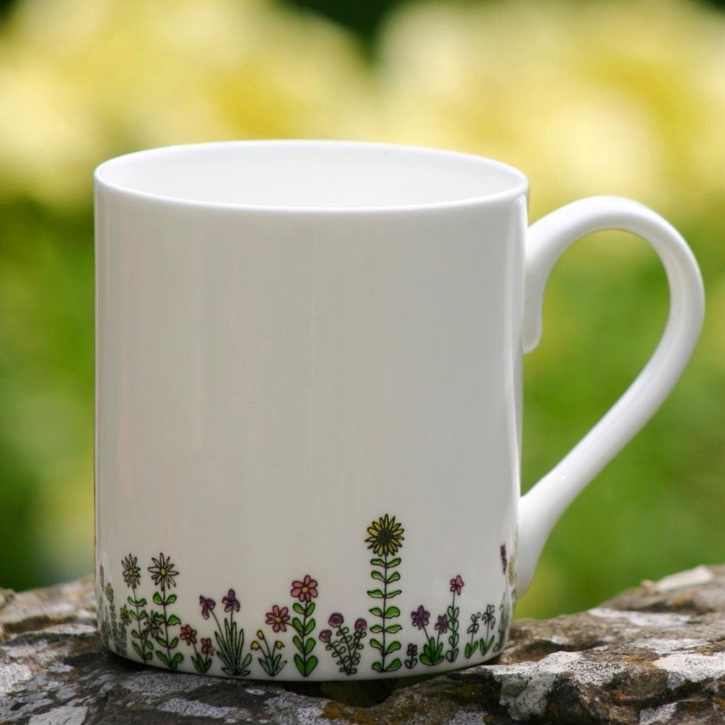 wiggles and florence Flowers Mug