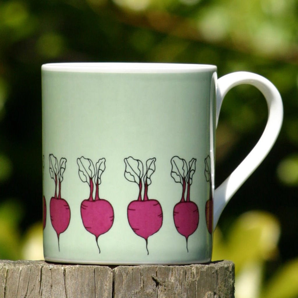 wiggles and florence Beetroot Mug