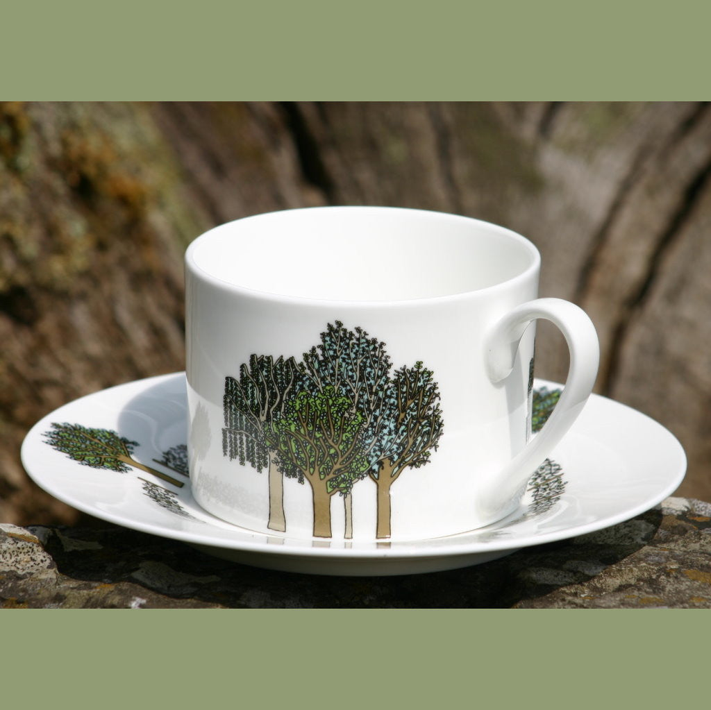 wiggles and florence Trees cup & saucer