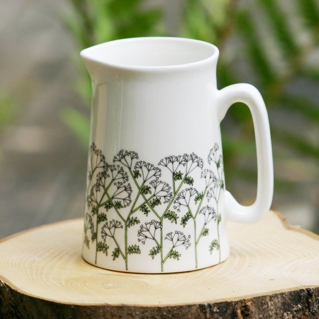 wiggles and florence Cow Parsley Jug