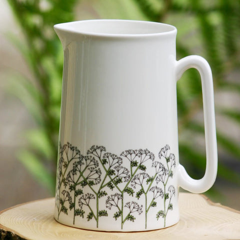 Cow Parsley Jug Lge