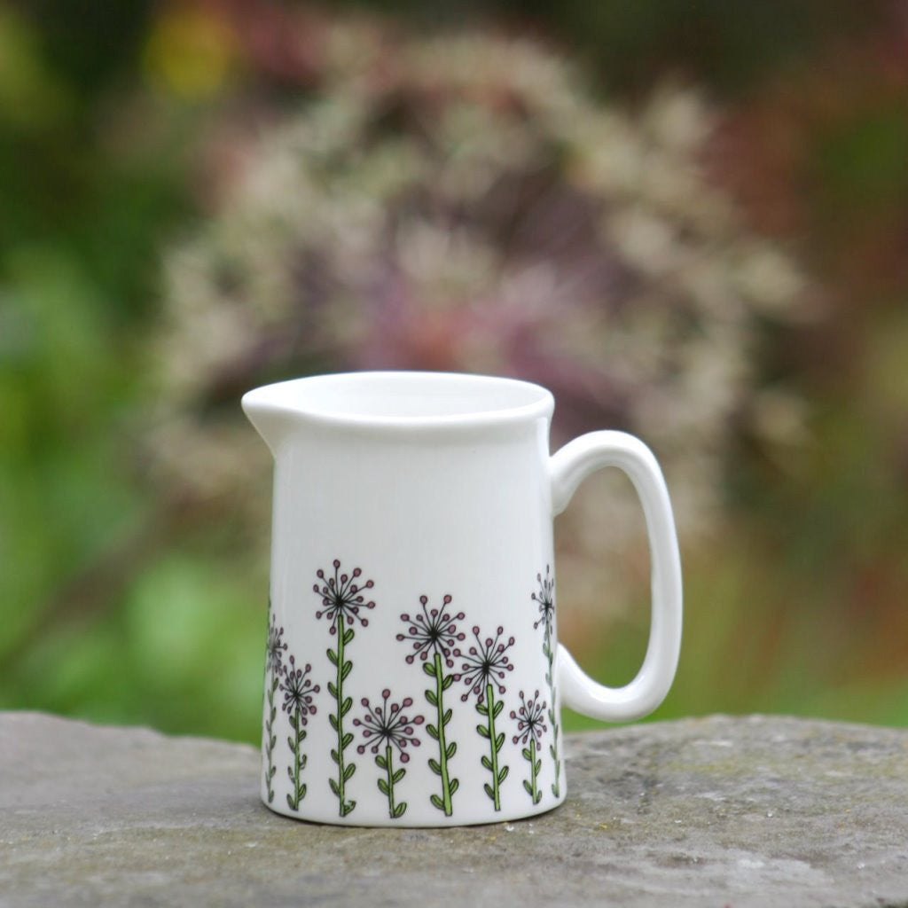 wiggles and florence Alliums Jug