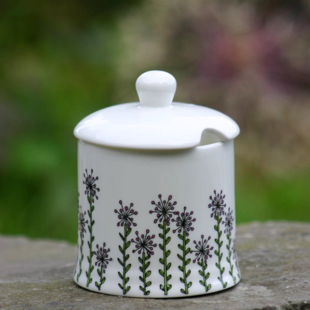 wiggles and florence Alliums Sugar Pot