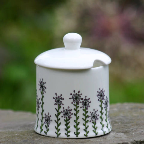 Alliums Sugar/Jam Pot with lid
