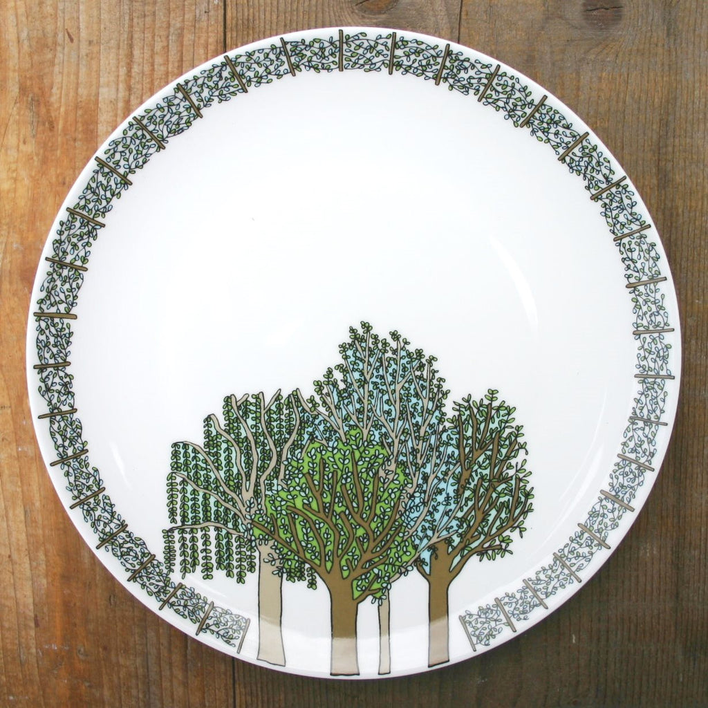 wiggles and florence Trees Plate