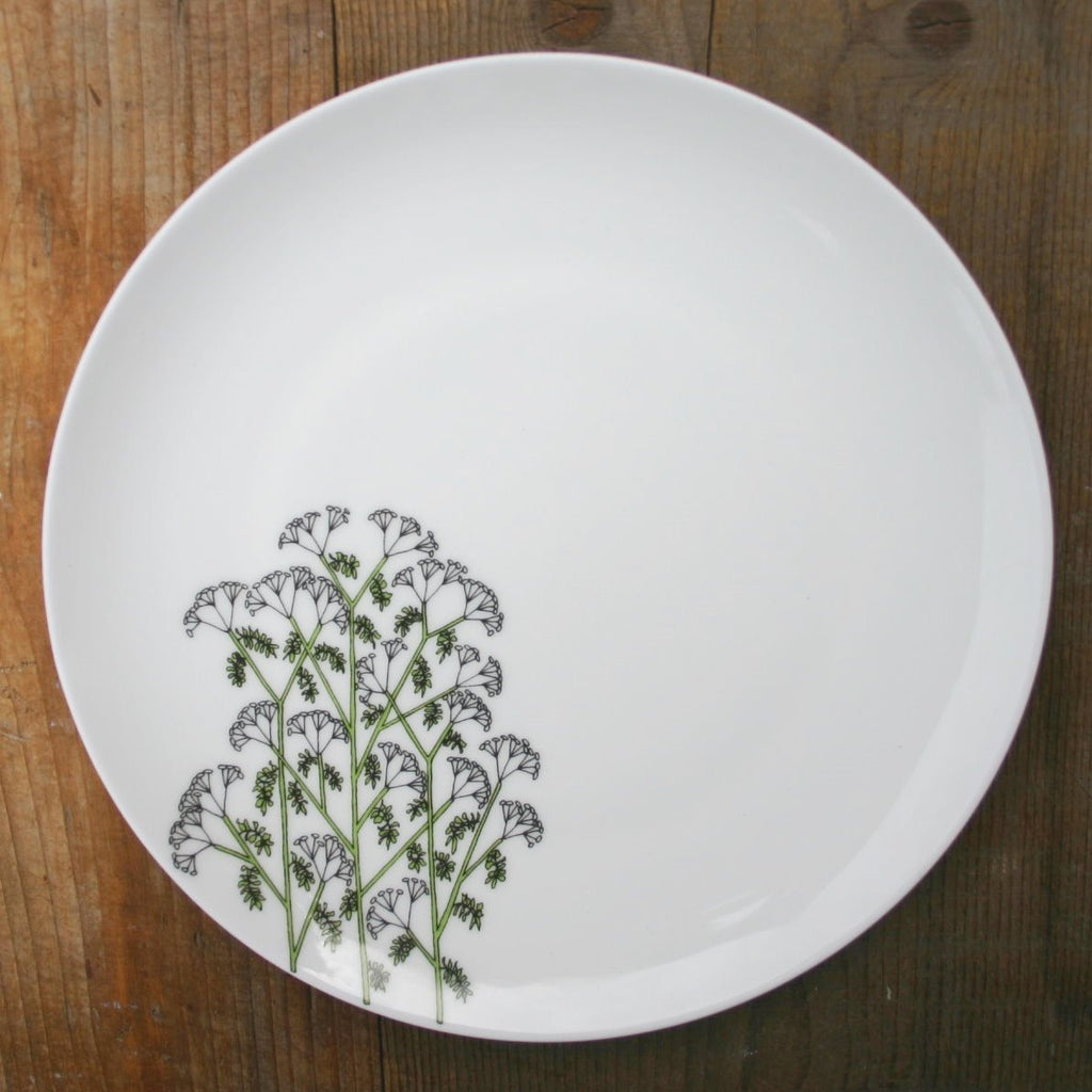 wiggles and florence Cow Parsley Plate